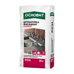 Цементные Штукатурка ОСНОВИТ Фасадная СТАРТВЭЛЛ РС21 25 кг 105016