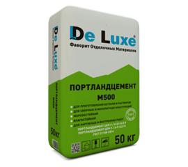 М500 Цемент De Luxe М500 Д20 ЦЕМ II/А-Ш 42,5Н 50 кг 101006