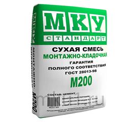 Универсальные Сухая смесь монтажно-кладочная МКУ М-200 40 кг 102013