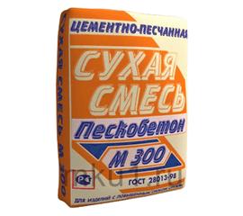 Пескобетон Сухая смесь универсальная М-300 эконом МКУ 40 кг 102012
