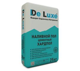Наливной пол Наливной пол цементный De Luxe ХАРДПОЛ 25 кг 104003