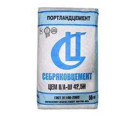 М500 Цемент Себряковцемент М500 Д20 ЦЕМ II/А-Ш 42,5Н 50 кг 101005