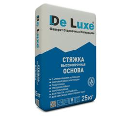 Стяжки Cтяжка высокопрочная De Luxe ОСНОВА 25 кг 104001