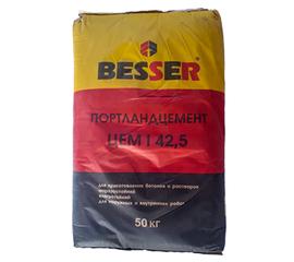 М500 Цемент BESSER М500 Д0 ЦЕМ I 42,5Н 50 кг 101009