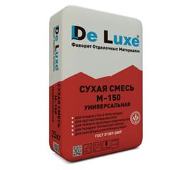 Универсальные Сухая смесь универсальная De Luxe М-150 50 кг 102016