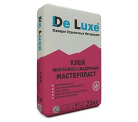 Гипсовые Монтажно-кладочный клей De Luxe МАСТЕРПЛАСТ 25 кг 107007