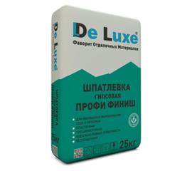 Гипсовые Шпатлевка гипсовая De Luxe ПРОФИ ФИНИШ 25 кг 106005