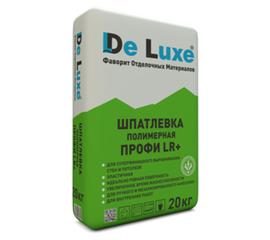 Полимерные Шпатлевка полимерная De Luxe ПРОФИ LR+ 20 кг 106006