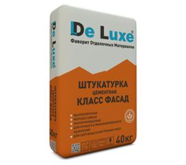 Цементные Штукатурка цементная De Luxe КЛАСС ФАСАД 40 кг 105012
