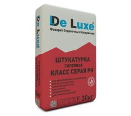 Гипсовые Штукатурка гипсовая De Luxe КЛАСС серая РН 30 кг 105008