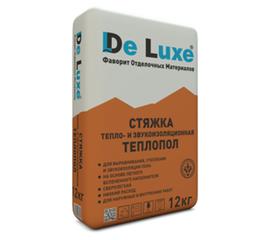 Стяжки Стяжка тепло-звуко изоляционная De Luxe ТЕПЛОПОЛ 12 кг 104004