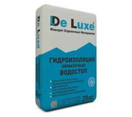 Гидроизоляционные смеси Гидроизоляция обмазочная De Luxe ВОДОСТОП 20 кг 104010