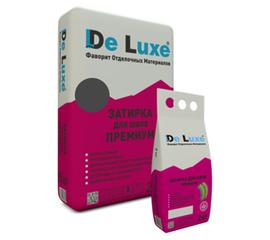 Затирка для плитки Затирка для швов плитки De Luxe ПРЕМИУМ ГРАФИТ 2 кг 109004