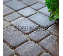 "Брусчатка Тротуарная плитка Классика ""Штайн Браун"" 110017"