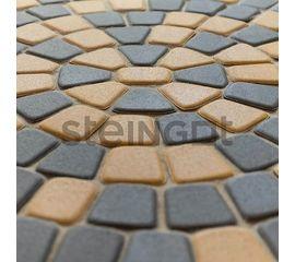 Брусчатка Тротуарная плитка Классика круговая Серая 110024