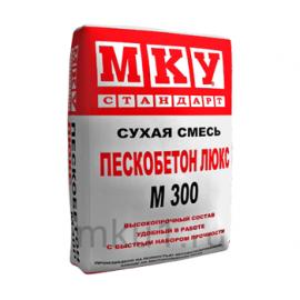 Пескобетон Сухая смесь Пескобетон ЛЮКС МКУ М-300 40 кг 102015