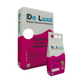 Затирка для плитки Затирка для швов плитки De Luxe ПРЕМИУМ БЕЛЫЙ 2 кг 109001