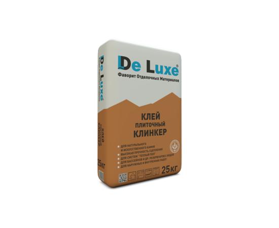 Клей для керамогранита Плиточный клей De Luxe КЛИНКЕР 25 кг 103009