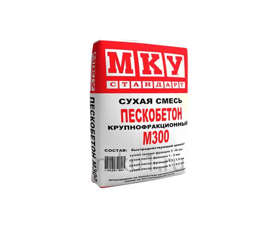 Пескобетон Сухая смесь Пескобетон МКУ М-300 40 кг 102010