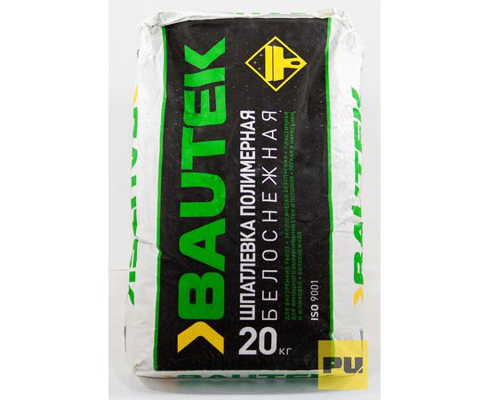 Полимерные Шпатлевка полимерная белоснежная BAUTEK 20 кг 106003