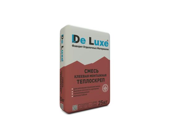 Для теплоизоляции Монтажный клей De Luxe ТЕПЛОСКРЕП 25 кг 107004