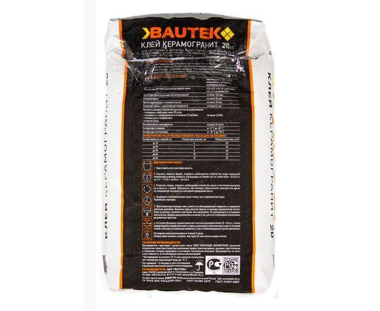 Клей для керамогранита Клей керамогранит BAUTEK 25 кг 103006