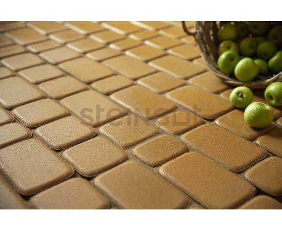 Брусчатка Тротуарная плитка Классика Желтая 110014