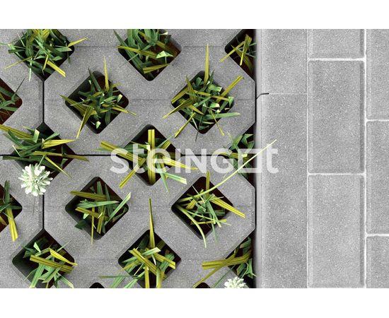 Брусчатка Тротуарная плитка Газонная решетка Серая 110055