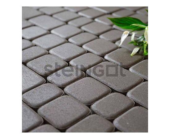 Брусчатка Тротуарная плитка Классика Серая 110016