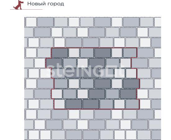 """Брусчатка Тротуарная плитка Новый город """"Блэнд"""" 110030"""