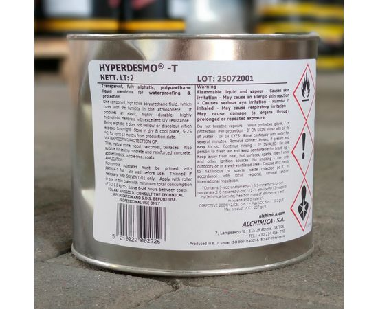 Полимерные мастики Мастика Гипердесмо Т (Hyperdesmo T) 2 л 112008