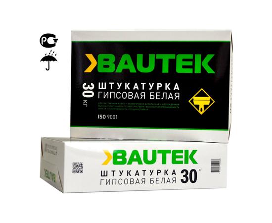 Гипсовые Штукатурка гипсовая белая BAUTEK 30 кг 105005